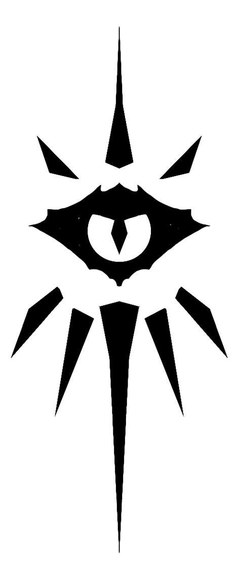 Class Symbol: Warlock | D&D Gallery: Player's Handbook in