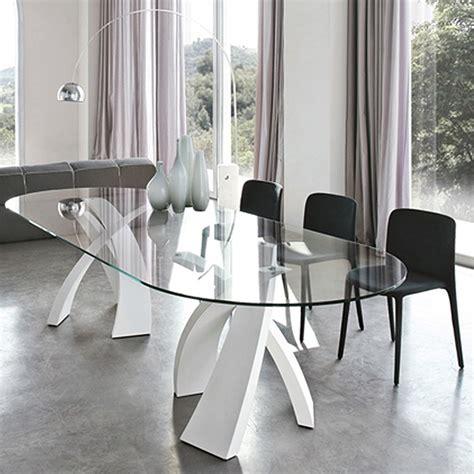 tonin casa big eliseo  metal dining table