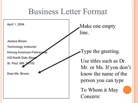 Email And Business Letter Writing Skills american letter format letter format 2017