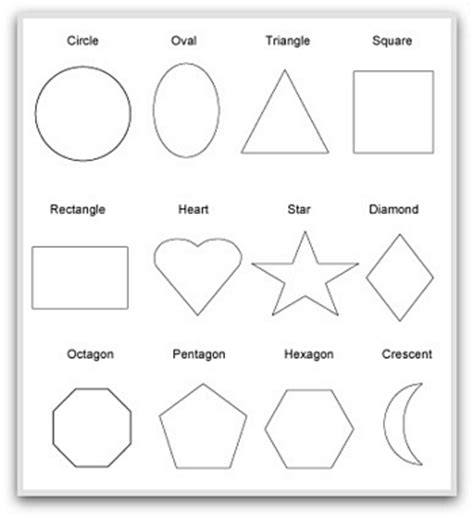 three dimensional shapes templates images