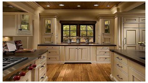 Tiles For Kitchen Backsplash Ideas gray countertop white cabinets rustic kitchen with