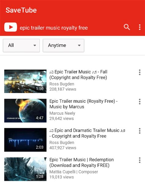 download mp3 youtube videos android download youtube videos mp3 on android with savetube