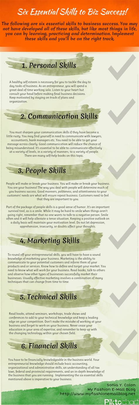 graphic design essentials skills 1856695999 6 essential skills for business success infographic bit rebels
