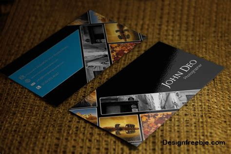 photographer business card template psd free 40 free business card psd templates devzum