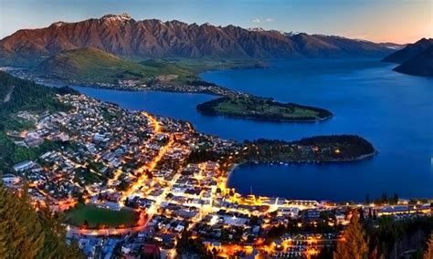 new zealand vacation with airfare and car rental from pacific holidays in queenstown groupon