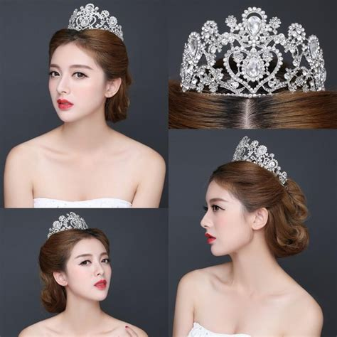 Wedding Hair Accessories In Dubai by Hair Accessory Silver Shining Bridal Growns Dubai