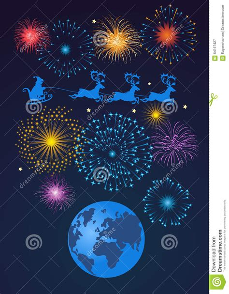 all the best for the new year stock illustration image