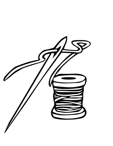 coloring book needle drop pin needle coloring page on