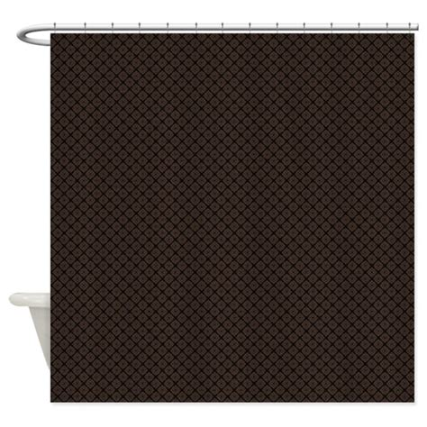 White Curtains With Brown Pattern Modern Brown Pattern Shower Curtain By Marlodeedesignsshowercurtains