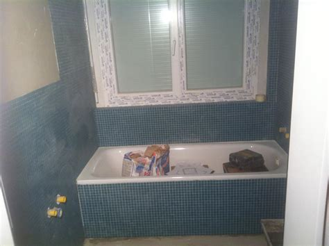 bagno muratura mosaico bagni mosaico muratura ristrutturazione bagno torino foto