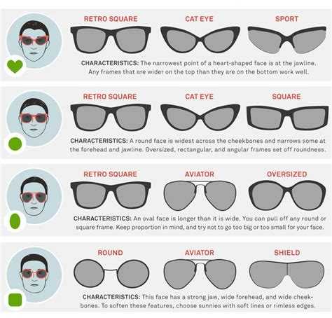 Whats Your Favorite Sunglass Shape by The Best Sunglasses For Your Shape The Sunglass Shop