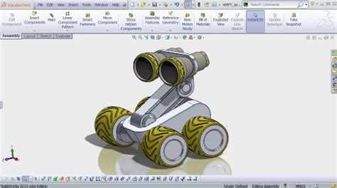 Solidworks Tutorial Robot | learn to model and 3d print a robot in under 2 hours with
