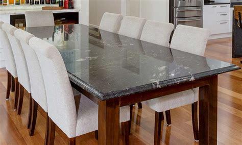 black granite dining table marble granite kitchen bathroom photos brisbane