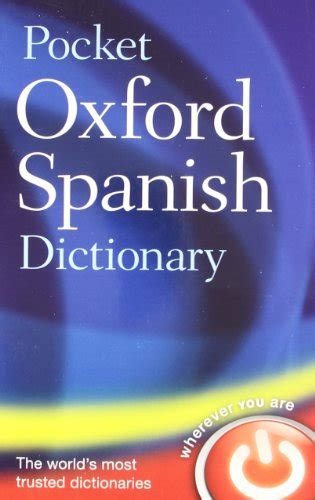 libro pocket oxford english dictionary pocket oxford spanish dictionary