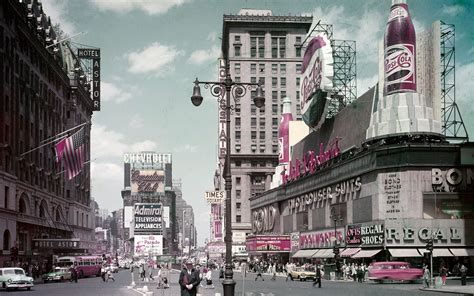 williamsburg 50s new york city in photos new york city in the 1950s travel leisure