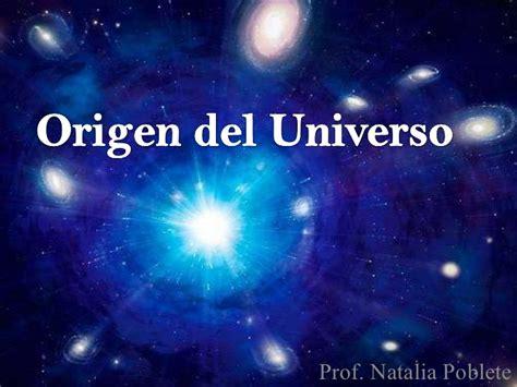 el origen del universo 848441891x origen del universo