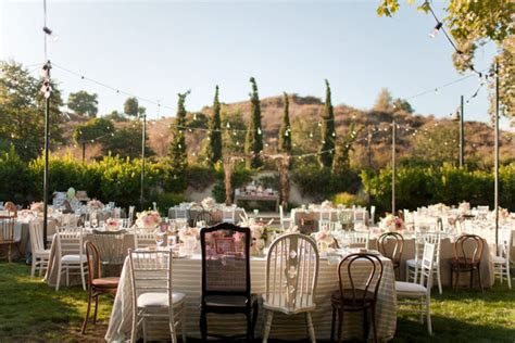 chairs garden wedding mismatched tables chairs a look you ll archive