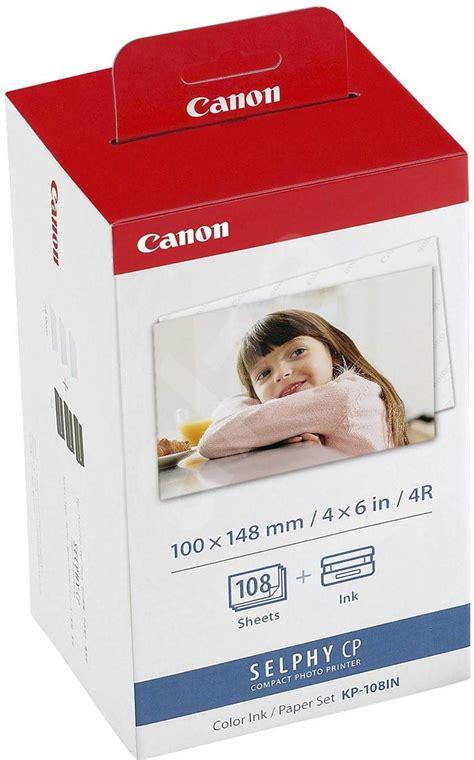 Folie Bedrucken Canon by Canon Kp 108in Papier Und Folien Alza De
