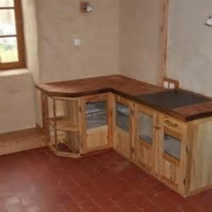 fabriquer une cuisine en bois fabriquer un meuble de