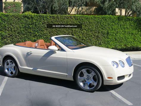 2008 bentley continental gtc convertible 2008 bentley continental gtc convertible 2 door 6 0l