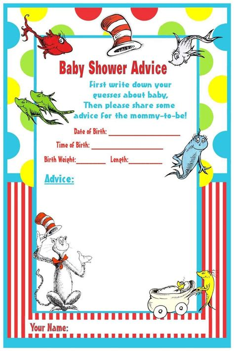 79 best images about dr seuss baby shower on pinterest