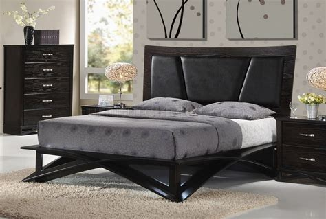 fairmont bedroom 6pc set in dark cappuccino by global