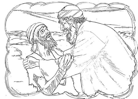 Prodigal Son Coloring Pages Preschool Coloring Home Prodigal Coloring Page