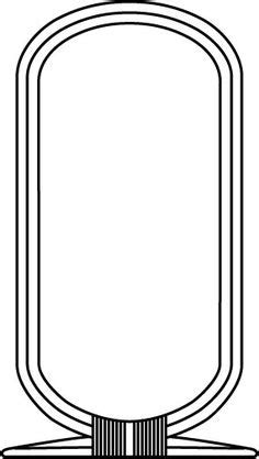 cartouche template part ii make your own cartouche walk like an