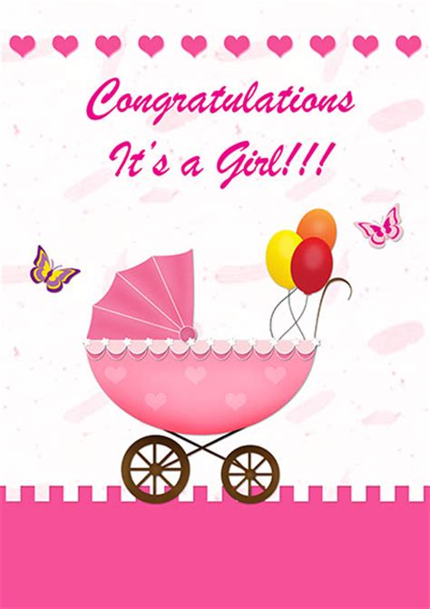 congratulations baby card template printable baby cards