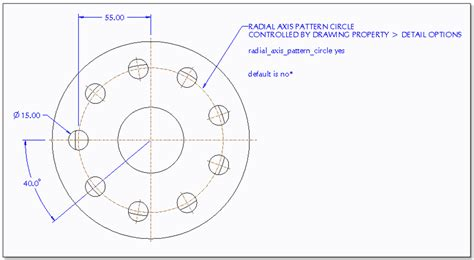 pattern a sketch in creo radial pattern axis circle pro users of the carolinas