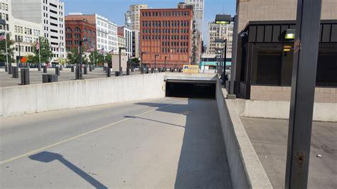 2 Detroit Parking Garage by Premier Underground Garage Parking In Detroit Parkme