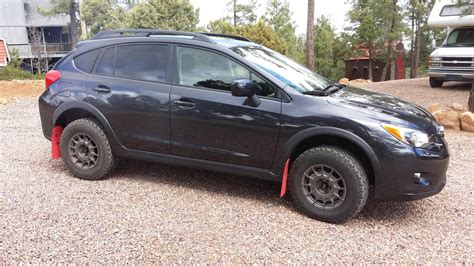subaru crosstrek rims anthracite color wheels on black crosstrek car