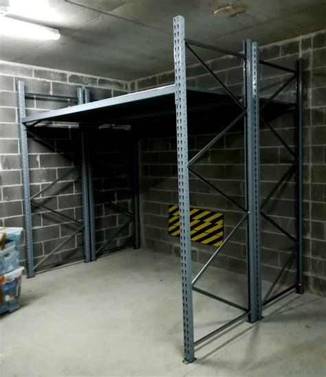 scaffali box scaffali per box scaffalature per garage h195xl250xp40 cm