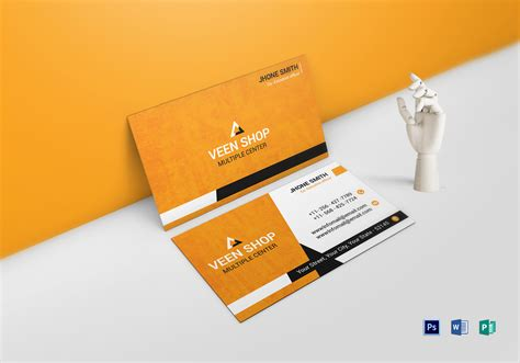 business card design templates publisher executive business card design template in word psd
