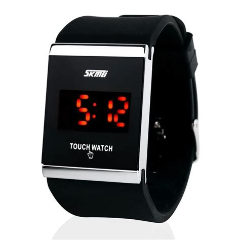 Skmei Jam Tangan Pria Black Rubber 0955 D Skmei Jam Tangan Led 0983at Black Jakartanotebook