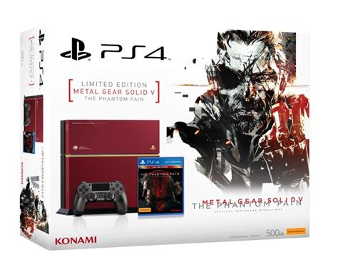 Console Ps 4 Metal Gear Solid V The Phantom Edition metal gear solid v ps4 console ps4 buy now at mighty ape nz
