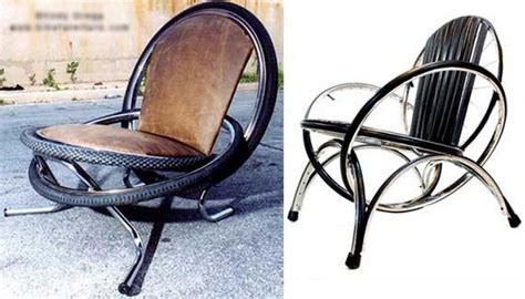 Diy Recliner Chair by Diy Furniture From Recycled Automotive Tires Recycled Things