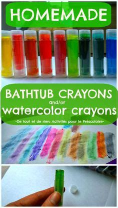 homemade bathtub crayons 1000 images about crafted items for kids to play with or