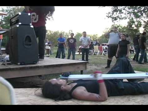 backyard wrestling documentary esw backyard wrestling the great divide vs austen g old