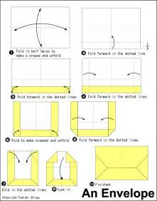 How Do U Make A Paper Envelope - a4 envelope fold crafty origami envelope