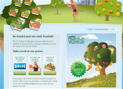 Instant Win Games Uk - win instant prizes with the fruitypot fruitfall game