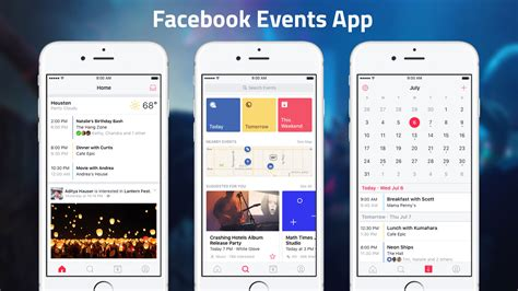 make calendar app launches standalone events discovery and