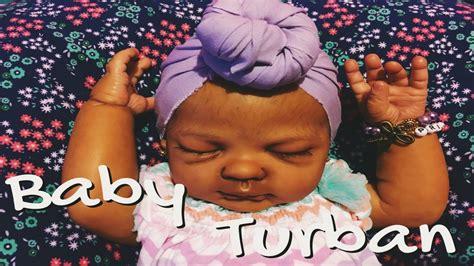 tutorial menjahit turban baby reborn baby turban tutorial youtube