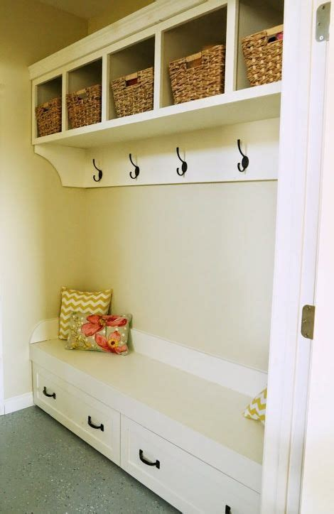 ana white mudroom bench drawers ana white and organizers on pinterest