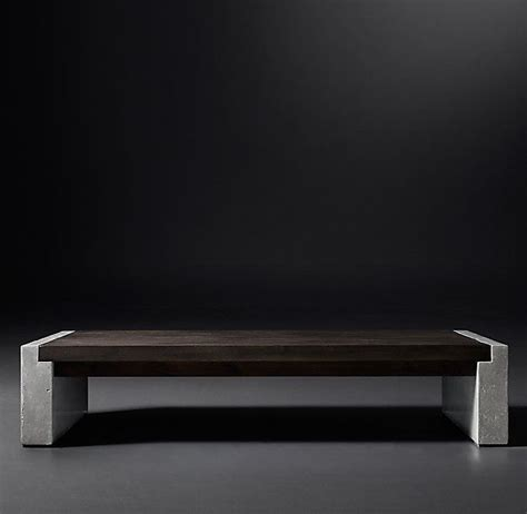 rh coffee table 1000 ideas about concrete coffee table on