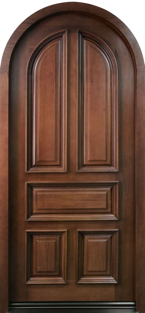 solid wood front doors front door custom single solid wood with mahogany finish classic model db 395w cst