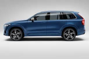 Volvo Xc90 R Design 2016 Volvo Xc90 R Design Side View Photo 7