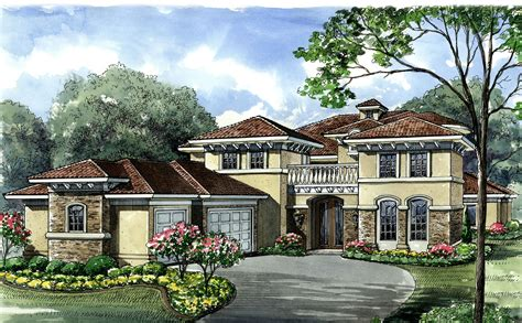 mediterranean house plan mediterranean house plan with exciting features 67109gl