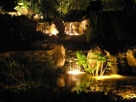 water garden lighting aquascape wolf creek company