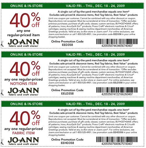 online printable joann fabric coupons joann fabrics coupons printable coupons online